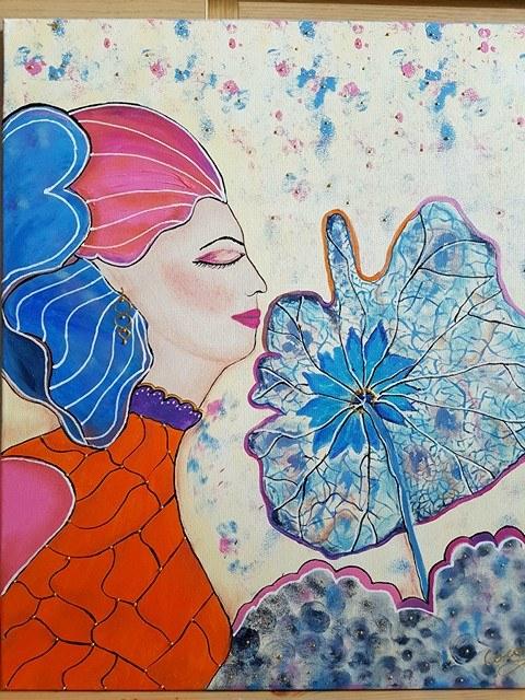 ebook zyciorysy niebieska kobieta z dmuchawcem