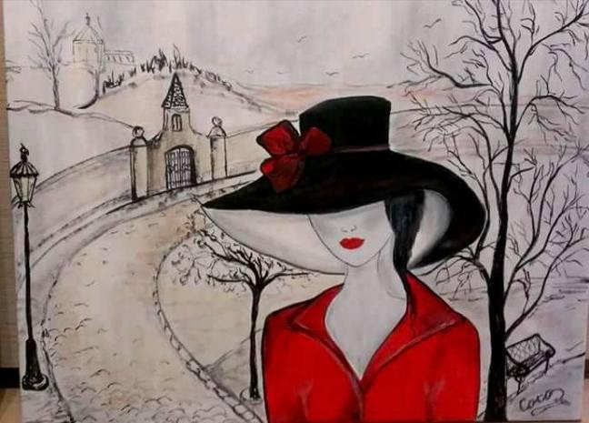 ebook zyciorys kobieta w czarnym kapeluszu